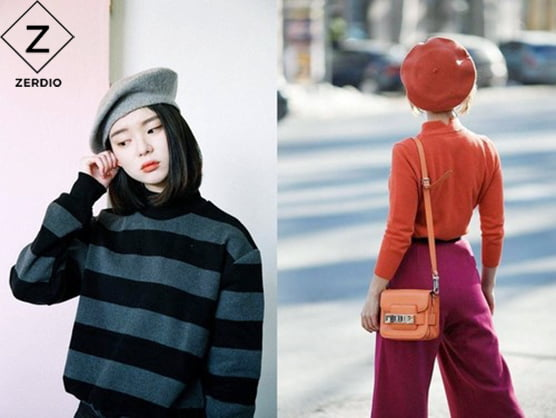 cách đội mũ beret đẹp cho nữ