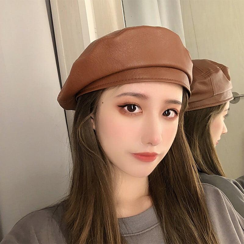 cách đội mũ nồi cho mặt dài nữ