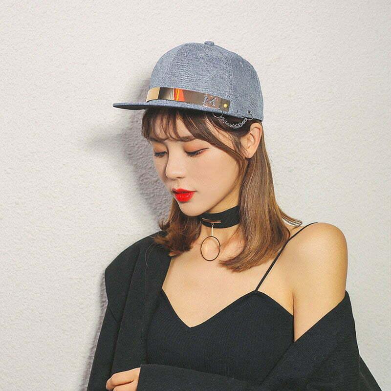 cách đội nón snapback đẹp cho nữ