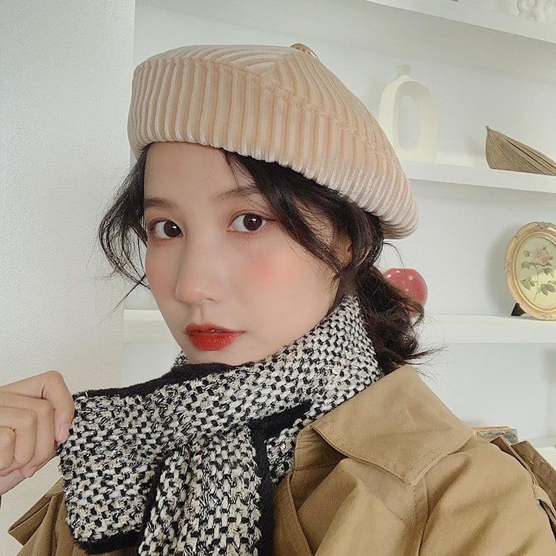 Cách đội mũ len nồi đẹp