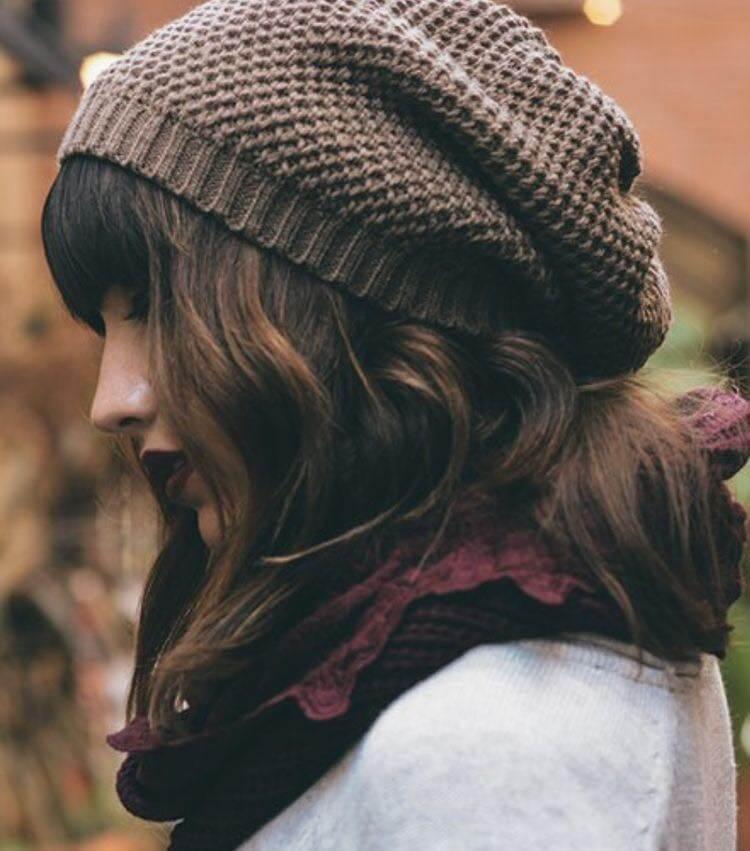 các kiểu mũ len đẹp cho nữ