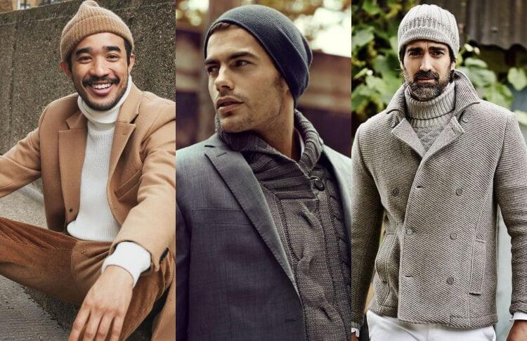 cách chọn nón len nam theo khuôn mặt