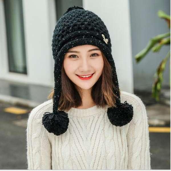 cách đội mũ len đẹp cho nữ tóc ngắn