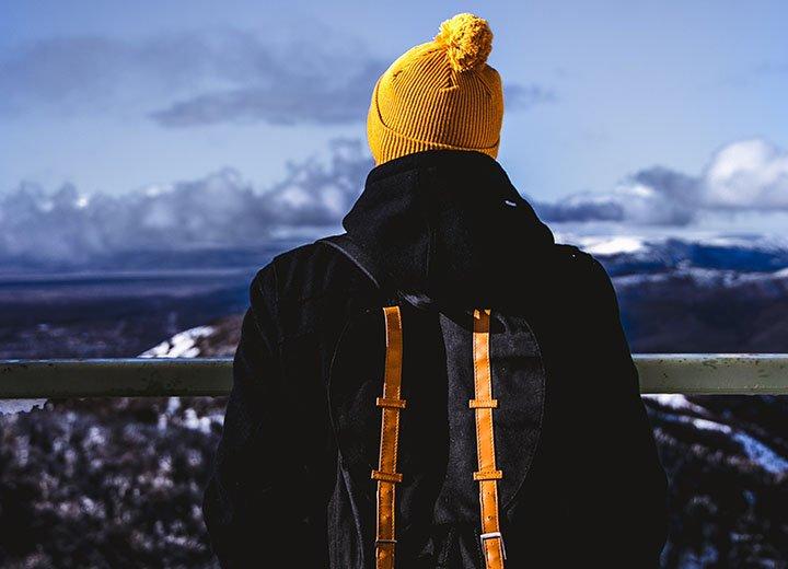 cách đội mũ mùa đông cho nam