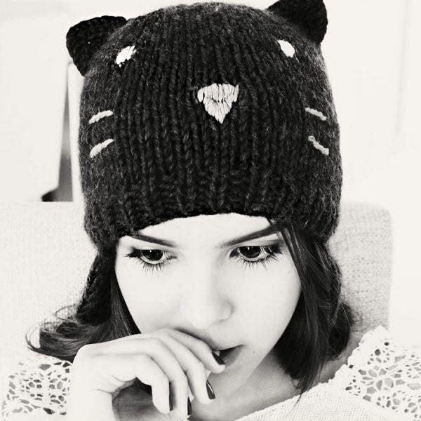 Cách phối đồ với mũ len nữ ấm áp vào mùa đông