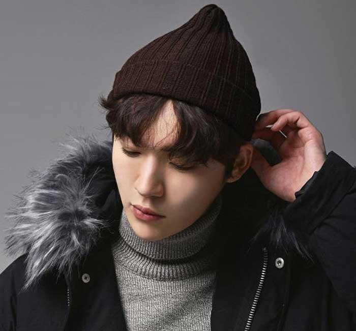 chọn mũ len cho khuôn mặt trái xoan