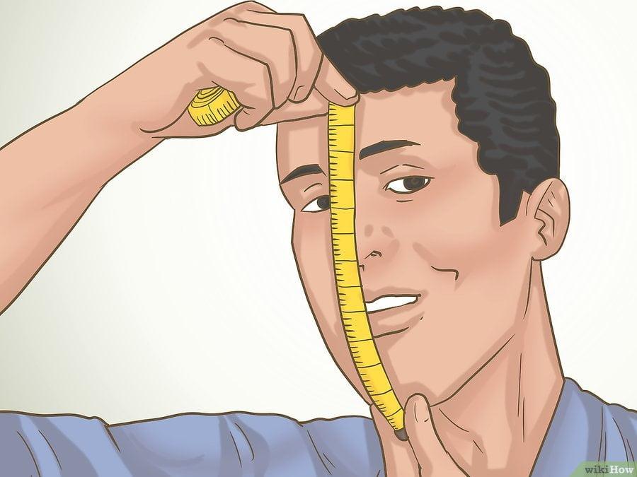 đo chiều dài khuôn mặt