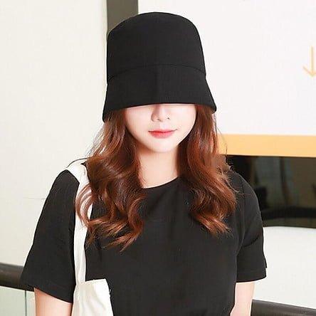 mũ bucket cho khuôn mặt tròn
