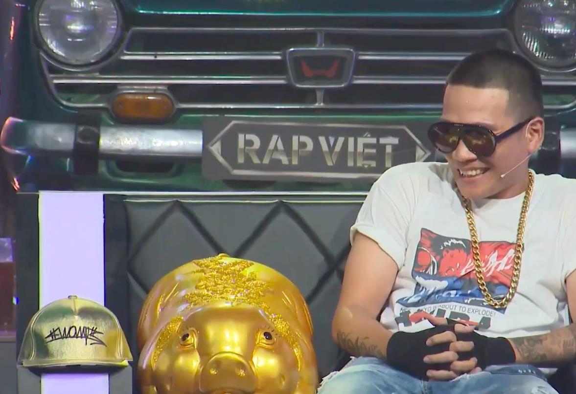 Nón hiphop vàng Rap Việt