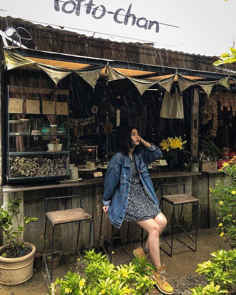 Phối đồ đi cafee ở Đà Lạt