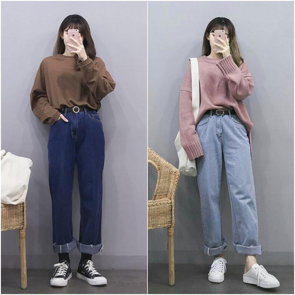 cách chọn quần áo cho người béo lùn