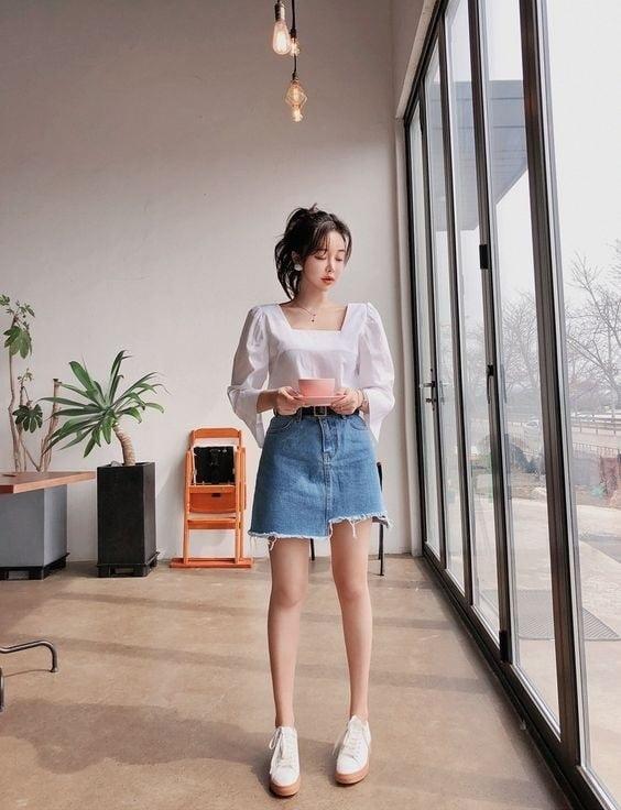 Váy ngắn