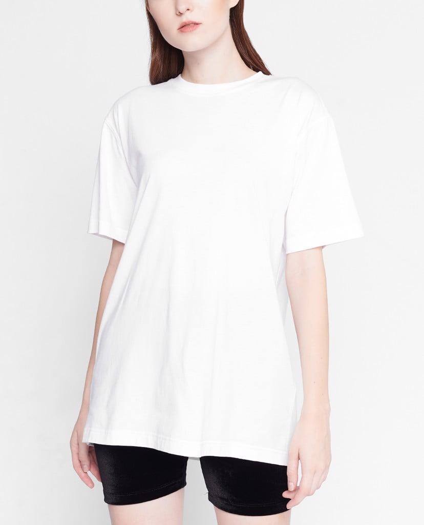 Áo thun trắng trơn