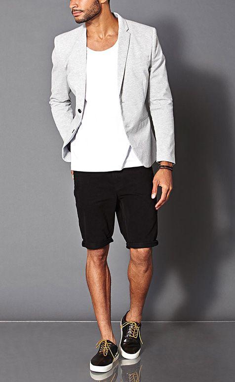 cách phối đồ cho nam với quần short