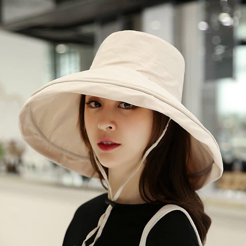 Các kiểu mũ rộng vành đẹp cho nữ