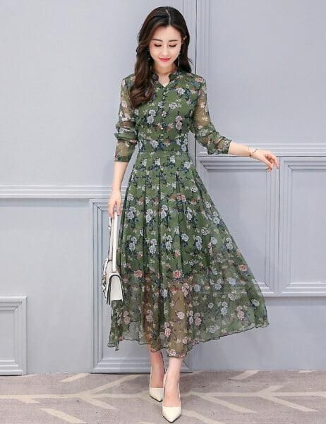 váy đẹp hàn quốc