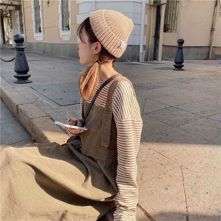 mũ len nữ phối đồ
