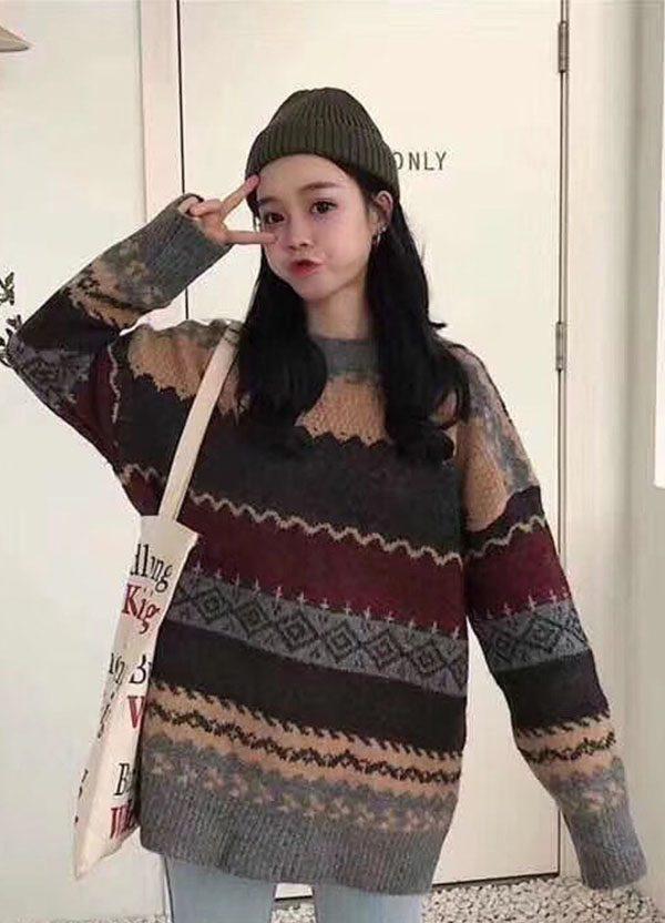 xu hướng nón len thời trang nữ