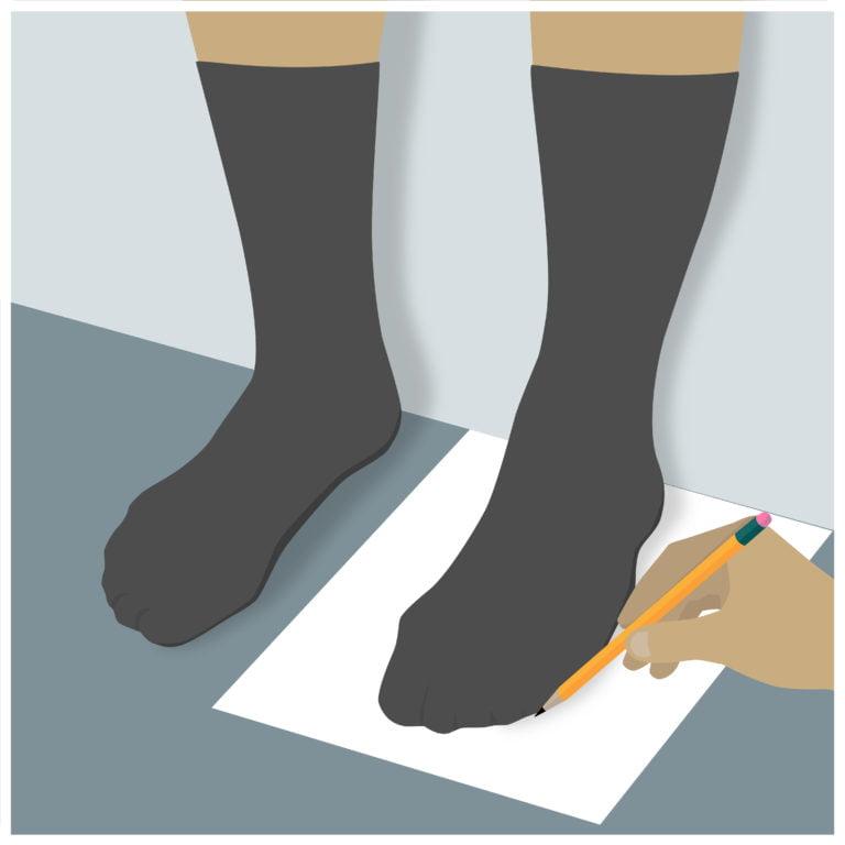 cách chọn size giày nam chuẩn