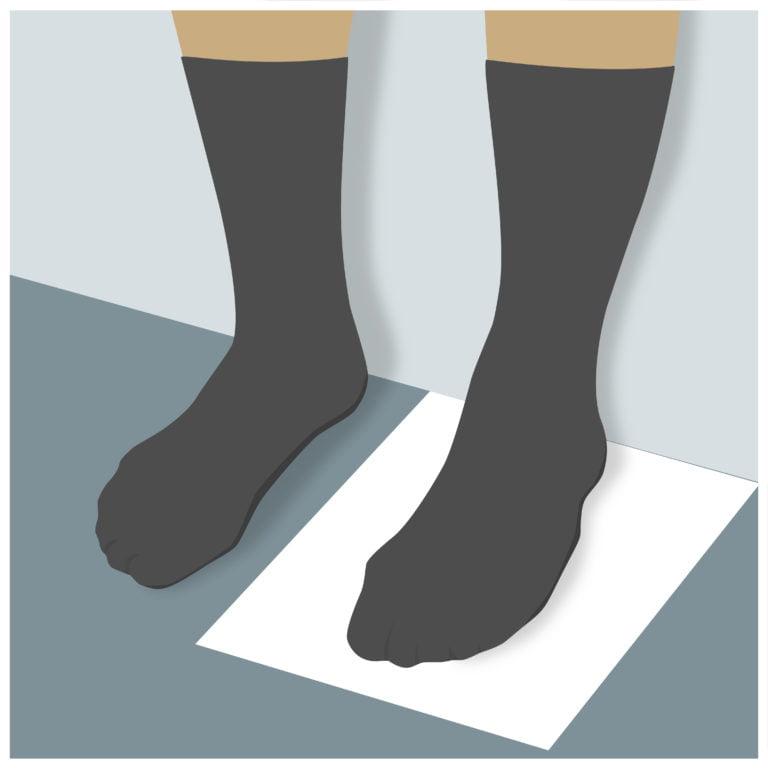 cách đo size giày nam chuẩn