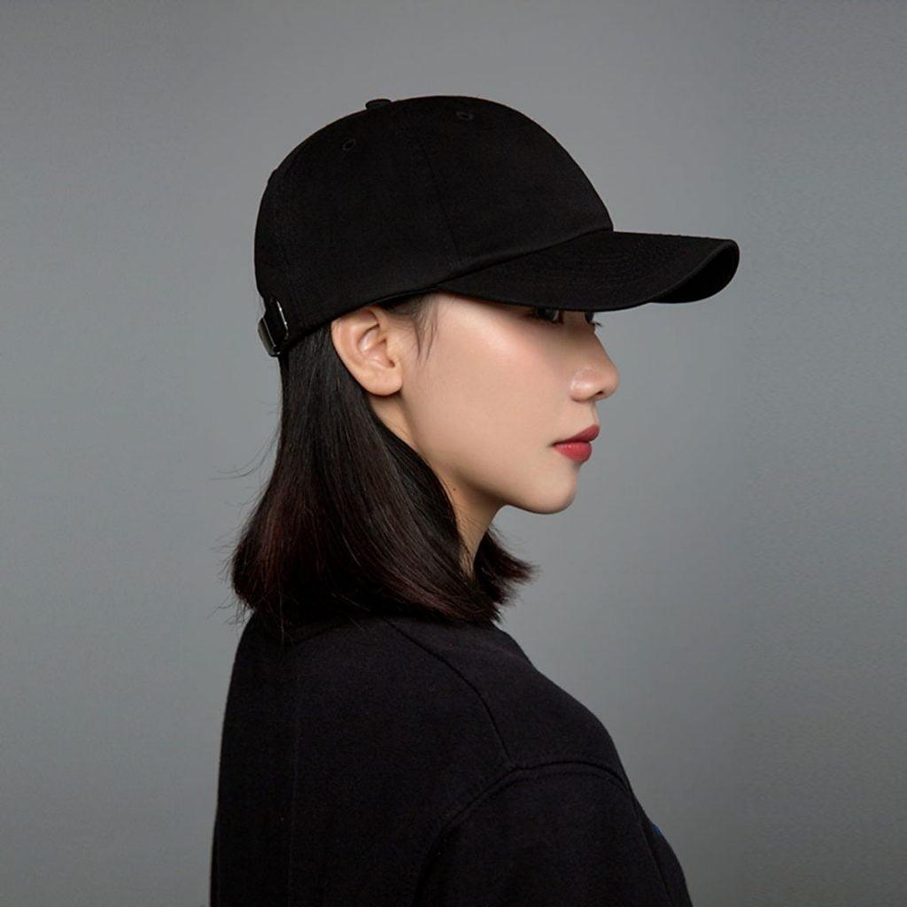 mũ đen nữ