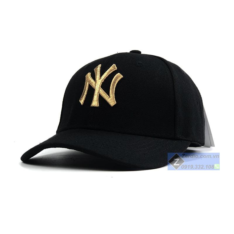 mũ mlb đen
