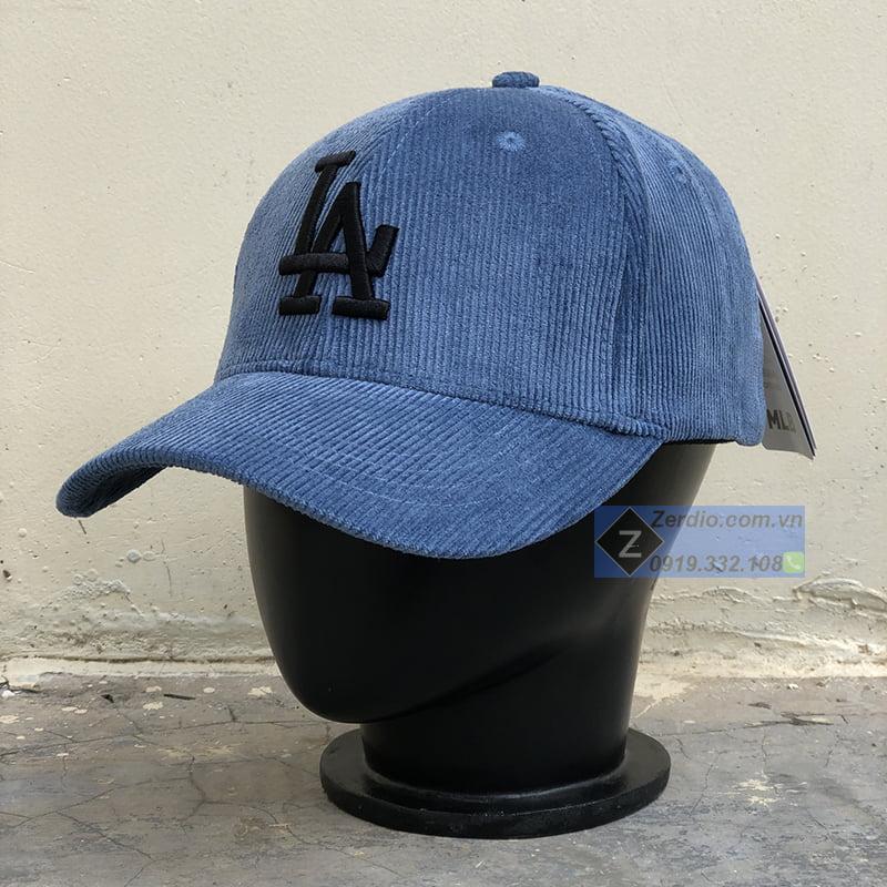 mũ mlb xanh