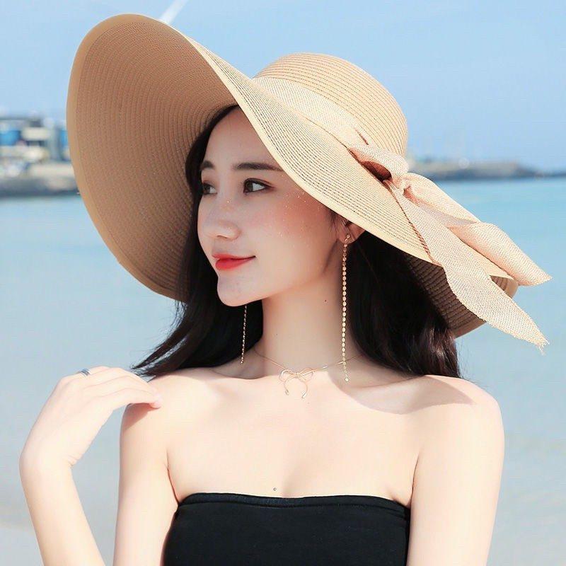 mũ thời trang đi biển