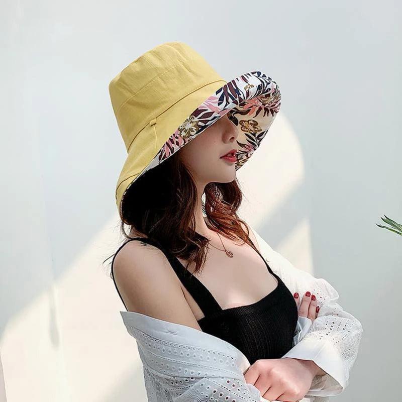 mũ thời trang nữ mùa hè