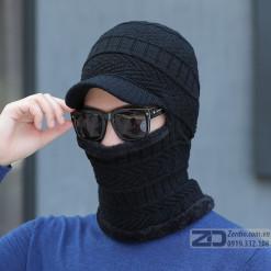 mũ len trùm đầu