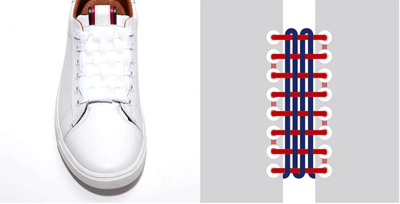 Cách buộc dây giày jordan