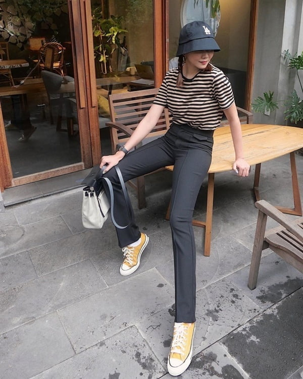 mix giày converse