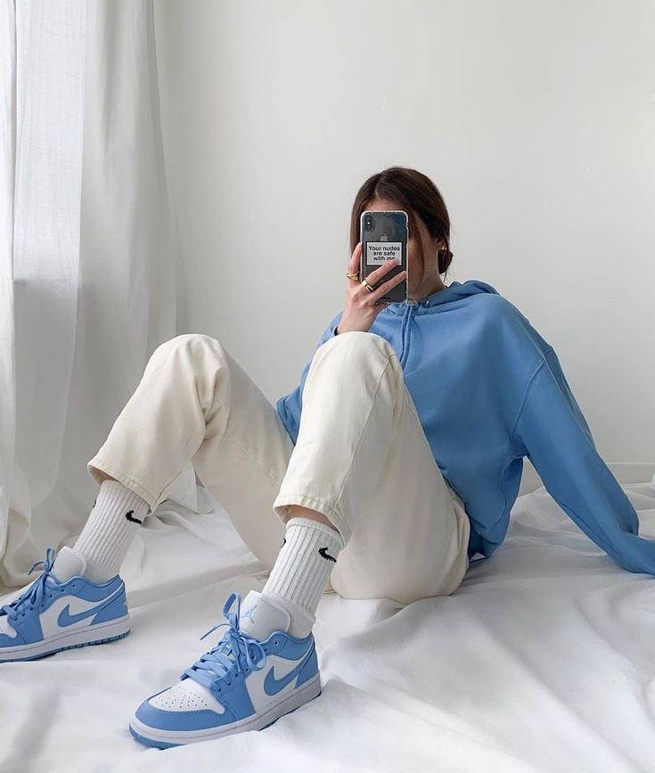 phối đồ với giày jordan cho nữ